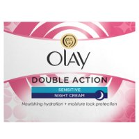 Olay Classic Care Double Action Moisturiser Night Cream Sensitive