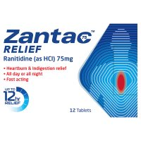 Zantac 75 Relief tablets