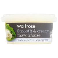 Waitrose smooth & creamy mayonnaise