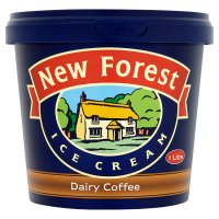New Forest dairy coffee ice cream