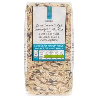 Waitrose LOVE life brown basmati red camargue & wild rice