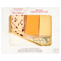 Waitrose Cheeseboard English