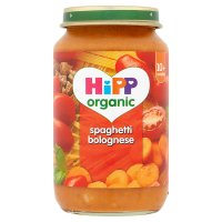 Hipp organic spaghetti bolognese - stage 3