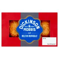 Dickinson & Morris pork pies snack Melton Mowbray