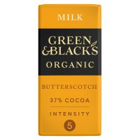Green & Black's Organic butterscotch milk chocolate