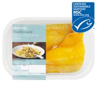 Waitrose MSC smoked haddock fillets
