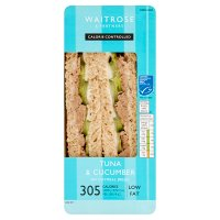 Waitrose LOVE Life you count  tuna & cucumber