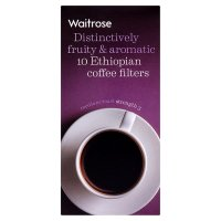 Waitrose Ethiopian blend coffee filters