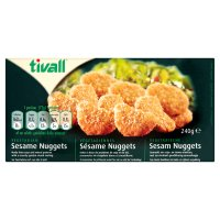 Tivall vegetarian nuggets - Kosher