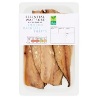 essential Waitrose smoked mackerel fillets