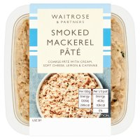 Waitrose smoked mackerel pâté