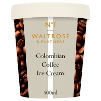Waitrose Seriously Colombian coffee ice cream