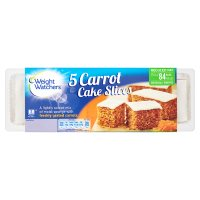 Weight Watchers 5 carrot cake slices