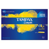 Tampax Compak Regular Tampon Single 32PK