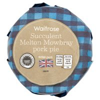 Waitrose Melton Mowbray large pork pie