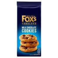 Fox's chunkie milk chocolate cookies
