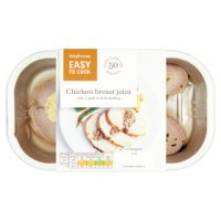 Waitrose Easy To Cook chicken breast joint with lemon, parsley & thyme stuffing