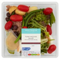 Waitrose tuna niçoise salad with French dressing