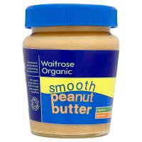 Waitrose organic smooth peanut butter