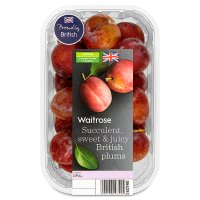 Waitrose British plums