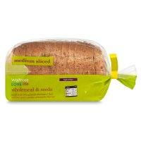 Waitrose LOVE life wholemeal & seeds medium sliced bread