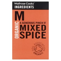 Waitrose Cooks' Ingredients organic mixed spice