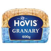 Hovis granary half size loaf malted brown sliced bread