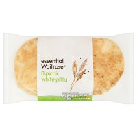 essential Waitrose picnic white pitta