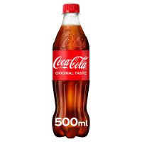 Coca-Cola plastic bottle