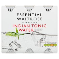 essential Waitrose Indian tonic water