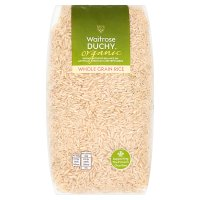 Waitrose LOVE life organic whole grain rice