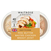 Waitrose Easy to Cook British mini chicken breast joint