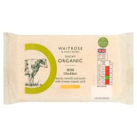 Waitrose Duchy Organic English cheddar cheese, strength 2