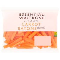 essential Waitrose carrot batons