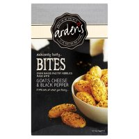 Arden's goats cheese & pepper bites