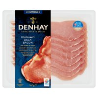 Denhay dry cured back unsmoked bacon