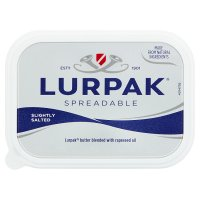 Lurpak spreadable slightly salted