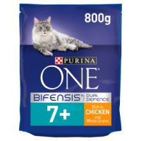 Purina ONE Senior 7+ Cat Rich in chicken & whole grains dry food