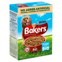 PURINA® BAKERS® Puppy Beef and Vegetable Dry Dog Food
