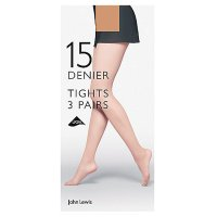 John Lewis Nude Tights - 15 Denier - Medium