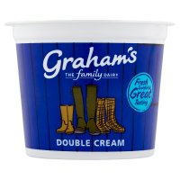 Graham's fresh Scottish double cream