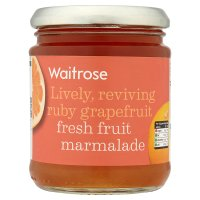 Waitrose ruby grapefruit fresh fruit marmalade