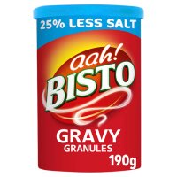 Bisto gravy granules reduced salt
