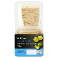 Waitrose Scottish mackerel & gooseberries pâté