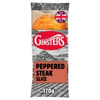 Ginsters peppered steak slice