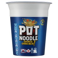 Pot Noodle chinese chow mein flavouir