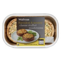 Waitrose cheese stuffed mushrooms