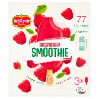 Del Monte raspberry smoothie