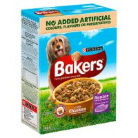 PURINA® BAKERS® Senior Chicken, Rice and Vegetable Dry Dog Food
