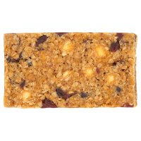 Cranberry & white chocolate flapjack